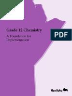 chemistry 40s curriculum