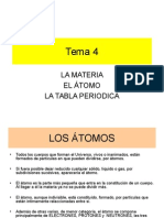 el atomo y la materia