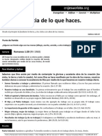HCV - La Importancia de Lo Que Haces - 22Mar2015