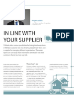 In line with your supplier