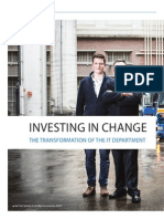 Investing in change