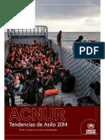 ACNUR Tendencias de Asilo 2014