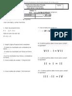 Examen 5to RM - Primaria