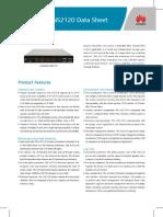 Huawei OceanStor SNS2120 Datasheet