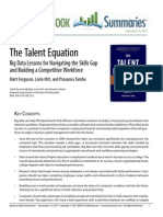 The Talent Equation