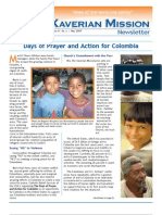 Xaverian Mission Newsletter May 2009