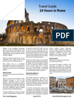 Travel Guide 24 Hours in Rome