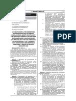 Ley 30313 que permite la oposición en el procedimiento registral