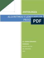 Antologia de Algoritmos y Lenguajes de Programación 24feb