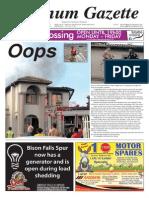 Platinum Gazette 27 March 2015