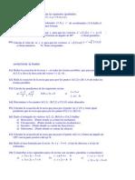 Ejercicios refuerzo y ampliación -Geometría Analítica - Bach I