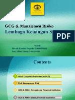 GCG Dan Manajemen Resiko Pada LKS