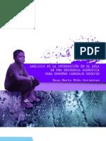 ANALISIS DE LA INTERACCION EN EL AULA Rosa Maria Niño Gutierrez