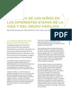 La Comida de Los Ninos en Las Diferentes Etapas de La Vida y Del Grupo Familiar