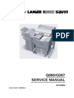 Savin CLP28 Service Manual