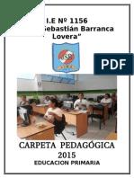 Carpeta Pedagogica Primaria 2015