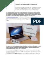 Consejos Para Mantener en Buen Estado El Cargador de Un MacBook Pro