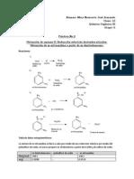 Reducción selectiva de derivados nitrados. Obtencion de m-nitroanilina