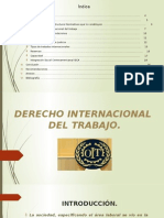 Derecho Internacional Del Trabajo