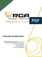 Catalogo de Servicios RGA Ingenieria y Proyectos