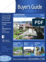 Coldwell Banker Olympia Real Estate Buyers Guide March 28th 2015