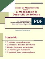 modelado en el desarrollo de software