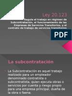 Resumen Ley 20123