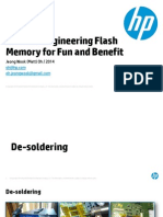 Reverse Engineering Flash Memory for Fun and Benefit