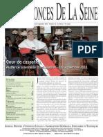 Edition Du Jeudi 22 Septembre 2011