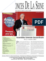 Edition Du Lundi 7 Octobre 2013