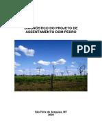 Diagnóstico do Projeto de Assentamento Dom Pedro (S. Felix do Araguaia/MT)