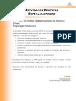 2014 1 CST ADS 3 Programacao Estruturada II