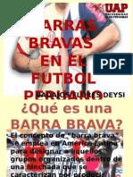 Barras Bravas en el Peru