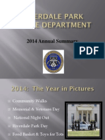 2014 Annual Summary - Riverdale Park Police Department, Maryland