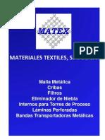 Catalogo_MATEX - Mallas