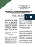 Análise comparativa do funcionamento de motores de indução trifásicos em uma rede elétrica com distúrbios de QEE utilizando as plataformas computacionais ATP e Matlab/Simulink