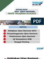 05-Sosialisasi Ujian Nasional Tahun 2015