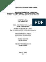 PROYECTO TIEMPO LIBRE TERMINADO.doc