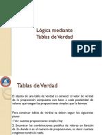 Presentacion I Logica Tablas de Verdad II 2015 SHG