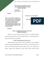 Settlement in Lacrosse Case