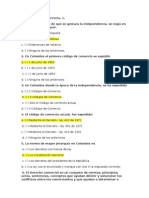 Cuestionario de Derecho Comercial 90 Preguntas