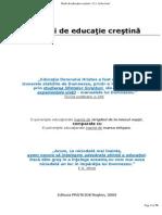 Studii de Educatie Crestina de E.a.sutherland