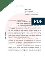 El Escrito de La Camara Donde Desestima La Denuncia de Nisman