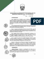 Tasas Registrales Marzo 2015