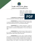 Resolução 125 CNJ