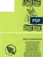 O Shot Caw Spirit Book
