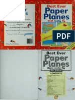 Best Ever Paper Planes That Really Fly-PaulJackson
