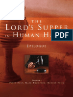 The Lord's Supper in Human Hands