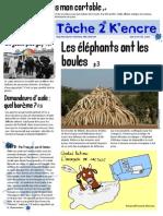 Concours de Une 2015 (Collège Descartes)