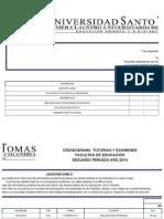 Cronograma Edu II-2014 1
